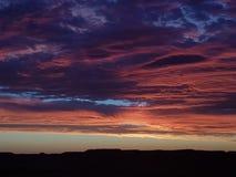 Sistema pedy de Coober Sun y ciudad minera del sur de Australia de los ópalos fotografía de archivo libre de regalías