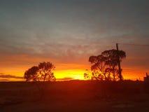 Sistema pedy de Coober Sun y ciudad minera del sur de Australia de los ópalos foto de archivo libre de regalías