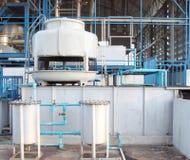 Sistema pequeno da torre refrigerando de água Fotos de Stock Royalty Free