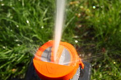Sistema per irrigazione Immagini Stock Libere da Diritti