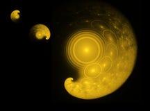Sistema planetário Fotos de Stock