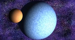 Sistema planetário Fotografia de Stock