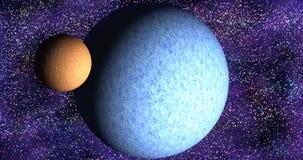 Sistema planetario fotografía de archivo