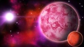 Sistema planetario bucle libre illustration