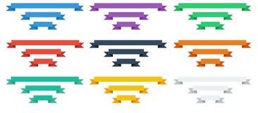 Sistema plano de la cinta Fotos de archivo libres de regalías