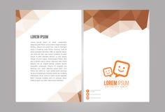 Sistema profesional de la identidad del diseño moderno Imagenes de archivo