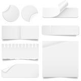 Sistema rasgado y doblado del papel libre illustration