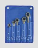 Sistema ratcheting de la llave combinada de CR-V Imagen de archivo libre de regalías