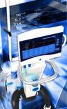 Sistema respiratorio de la unidad del ventilador médico del hospital Foto de archivo libre de regalías
