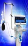 Sistema respiratorio de la unidad del ventilador médico del hospital Fotografía de archivo libre de regalías