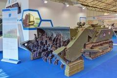 Sistema robótico para la limpieza de minas Foto de archivo