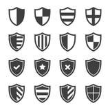 Sistema seguro del icono del escudo del vector libre illustration