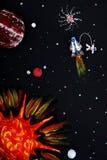 Sistema Solar Fotografía de archivo libre de regalías