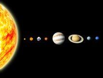 Sistema Solar Imágenes de archivo libres de regalías