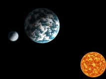 Sistema Solar Imagenes de archivo