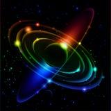 Sistema Solar abstracta #5. Foto de archivo libre de regalías