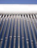 Sistema solar de la calefacción por agua Fotografía de archivo libre de regalías