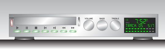 Sistema stereo illustrazione vettoriale