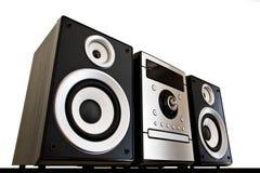 Sistema stereo Fotografia Stock Libera da Diritti