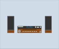 Sistema stereo Fotografia Stock