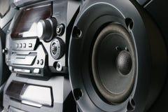 Sistema stereo compatto fotografia stock libera da diritti
