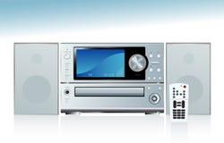 Sistema stereo generico Fotografia Stock