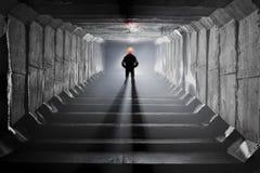 Sistema subterráneo debajo de la ciudad Imagenes de archivo