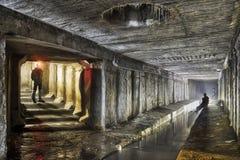 Sistema subterráneo debajo de la ciudad Imágenes de archivo libres de regalías