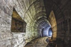 Sistema subterráneo debajo de la ciudad foto de archivo