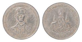 Sistema tailandés de la moneda de Bah Fotos de archivo