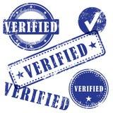 Sistema verificado del sello libre illustration