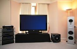 Sistema video audio imagens de stock
