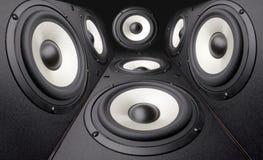 Sistemas da acústica Foto de Stock Royalty Free