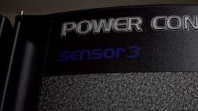 Sistemas de alimentación ininterrumpida Servidor de UPS Sensor de la luz del servidor del centelleo almacen de video