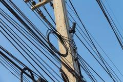 Sistemas de comunicação da fibra ótica Fotos de Stock Royalty Free