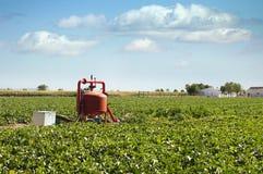 Sistemas de irrigação Fotos de Stock