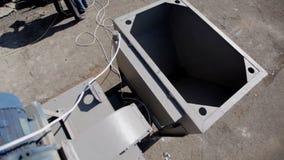 Sistemas de la caldera y de calefacción del combustible sólido almacen de video