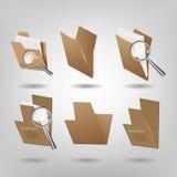 Sistemas de la carpeta Stock de ilustración