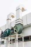 Sistemas de los ventiladores Fotografía de archivo