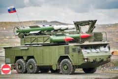 Sistemas de misiles del suelo al aire de Bouck M2 Imágenes de archivo libres de regalías