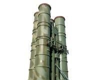 Sistemas de misiles rusos S-300 Imágenes de archivo libres de regalías