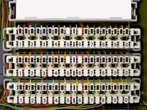 Sistemas de telecomunicações Fotografia de Stock