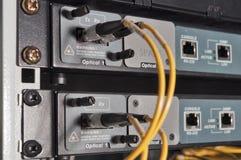 Sistemas de transmissão de dados  Fotos de Stock