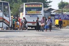 Sistemas de transporte Indonésia Imagem de Stock Royalty Free