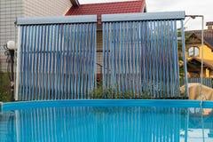 Sistemas modernos de calefacción por agua fotos de archivo libres de regalías