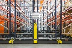 Sistemas móveis do shelving Fotografia de Stock