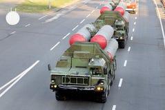 Sistemas S-300 de la defensa aérea del misil del lanzador Imagen de archivo libre de regalías