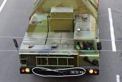 Sistemas S-300 de la defensa aérea del misil del lanzador Foto de archivo