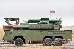 Sistemi di missile terra-aria di Bouck m2 Fotografia Stock
