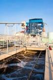 Sistemi di trattamento di acqua di Wast Immagini Stock Libere da Diritti